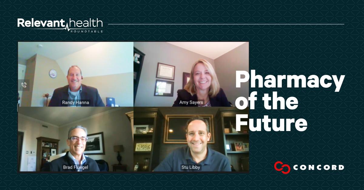 Concord Relevant Health Roundtable panelists photo